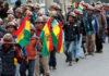 Horas de ofensiva golpista en Bolivia