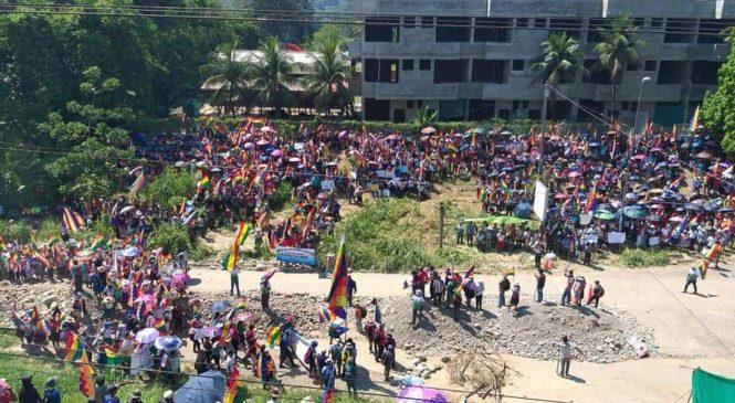 Bolivia: pronunciamiento de estudiantes de la UMSA
