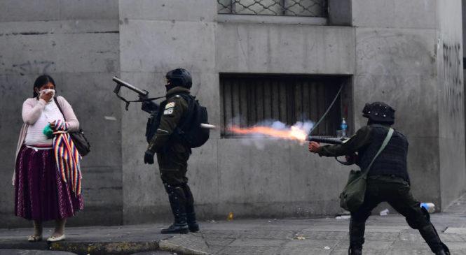 El Golpe de Estado sacudió a Bolivia