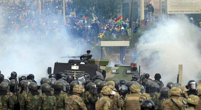 """BOLIVIA: LA ACADEMIA JAILONA SE """"INDIGNA"""" POR LLAMAR GOLPE AL GOLPE   Por Rafael Bautista S."""