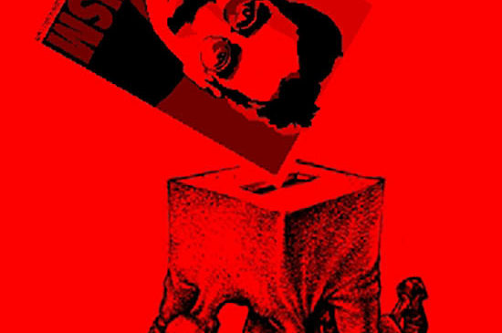 Ay… esa izquierda adoradora de las urnas…
