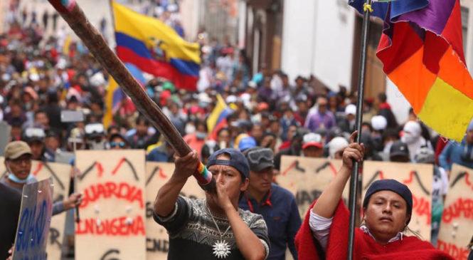 Las razones de la rebelión de Octubre en Ecuador