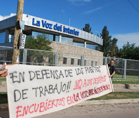 Córdoba: despidos y paro en La Voz y Vía Córdoba, medios del grupo Clarín