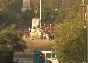 """Chile: Continúan las protestas en el """"super lunes"""""""