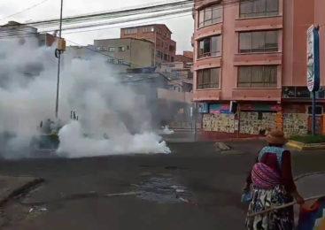 Bolivia: Tras la autoproclamación, hoy se vivió la jornada más violenta del golpe de Estado