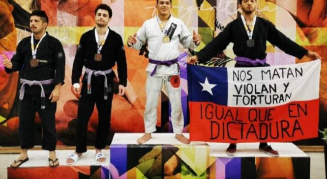 """""""Es necesario, como deportista, denunciar la represión inhumana en Chile"""""""