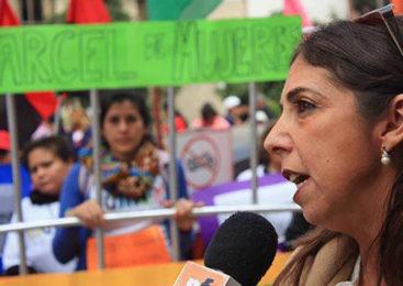 """""""La denunciante de Alperovich tiene la solidaridad de todo el movimiento de mujeres"""""""