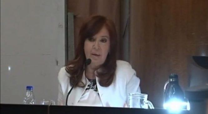 "Causa ""Vialidad"": Defensa política, lawfare y reproche a jueces de Cristina Fernández de Kirchner"