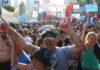 10D: alegría en las calles en el adiós a Macri