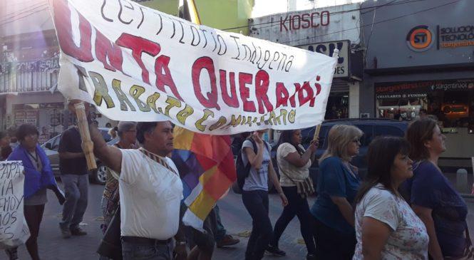 Masiva manifestación en Escobar contra el golpe de Estado en Bolivia