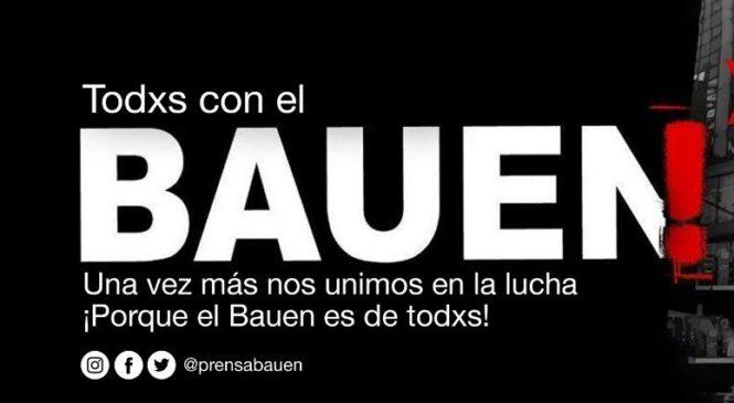 Vigilia para evitar el desalojo del Bauen
