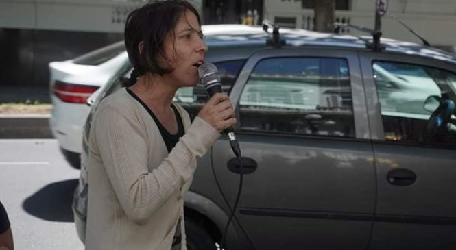 Familiares y amigos de Luciano Arruga se manifestaron frente a la Justicia Federal