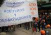 Aceiteros repudiaron el accionar policial ante la Quinta de Olivos