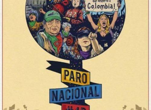 Colombia: ¡Parar, para avanzar!