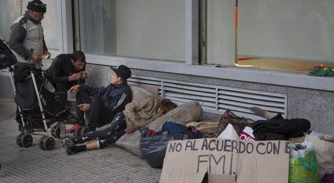 Macri sumó 4.000.000 de nuevos pobres