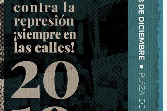 13 de diciembre: Presentación del Informe de la Situación Represiva Nacional 2019