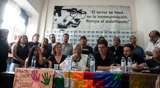 Informe preliminar sobre la situación en Bolivia