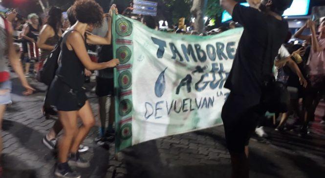 Tambores para que la tierra tiemble: Mendoza dice NO a la Ley Cianuro