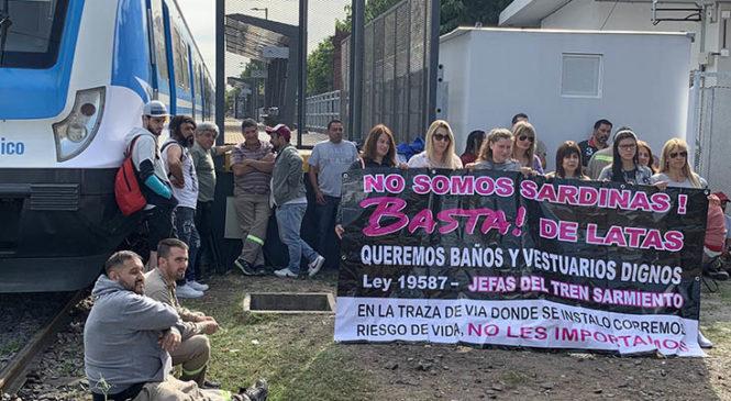Conciliación obligatoria en el paro en el Ferrocarril Sarmiento