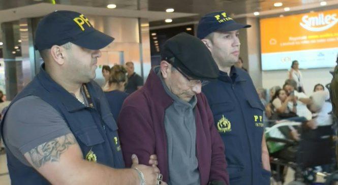 Extraditado por Francia, llegó a la Argentina el represor Mario Alfredo Sandoval