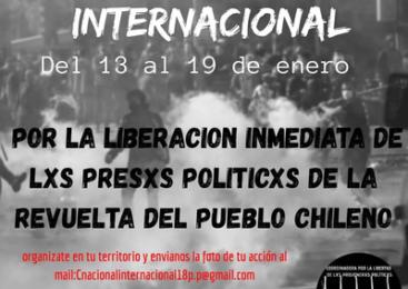 (A-Radio) Chile – 13.-19.1.2020: Semana de Solidaridad con lxs Presxs Políticxs
