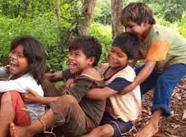Juegos infantiles mbya-guaraní: colectivos y poco competitivos
