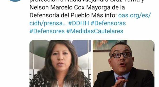 Bolivia: CIDH da medidas de protección a Defensores del pueblo