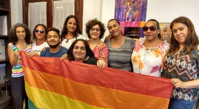 Trabajadoras trans de Paraná luchan por sus puestos: llevaron planteo a Nación
