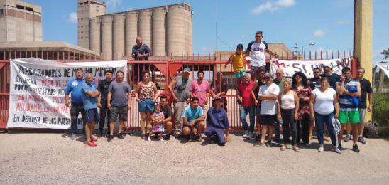 Trabajadores de Molino Minetti en lucha