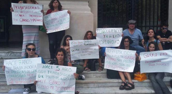 La Plata: Garro despide trabajadoras y vacía la Secretaría de Género y Diversidad