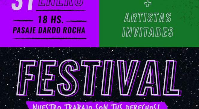 La Plata: Festival de la Asamblea de Trabajadoras de Género