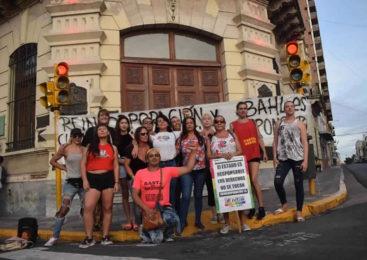 Travestis y trans marchamos en Paraná para exigir políticas laborales reales