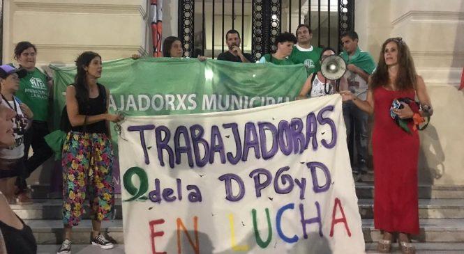 La Plata: trabajadoras de Género convocan a movilizar por la reincorporación