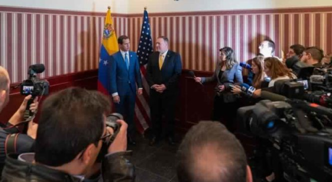 Bogotá: Resultados del breve encuentro entre Pompeo y Guaidó