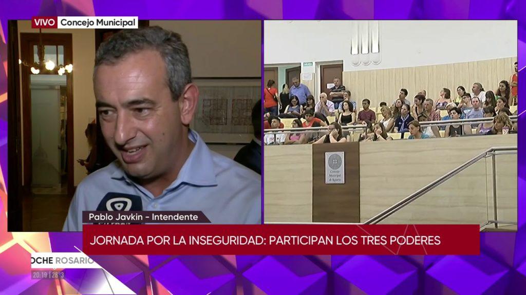 """""""JORNADA PÚBLICA HACIA UN ACUERDO PLURAL POR LA PAZ EN ROSARIO"""", en el CONCEJO MUNICIPAL DE ROSARIO (CMR)"""