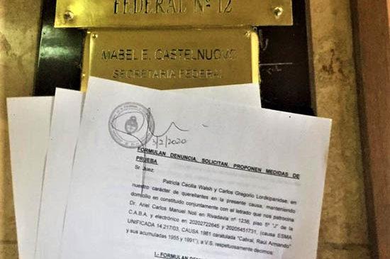 Solicitan a la justicia que investigue las casas de la megacausa ESMA