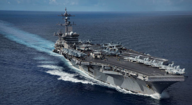 Diputados votó el ingreso de 5 mil tropas y un portaaviones norteamericanos a las costas de Argentina