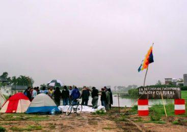 """A 10 años del """"acampe"""" de Punta Querandí: festejo e inauguración de la Maloka"""