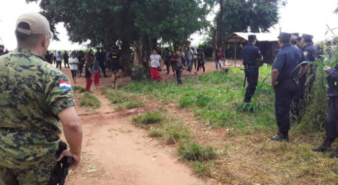 Paraguay: comunidad mbya guaraní se resistió a desalojo de tierras