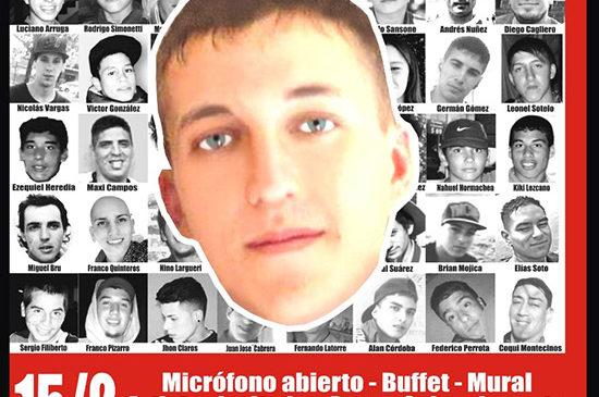 Jornada Antirrepresiva en La Plata a 7 años del asesinato de Omar Cigarán