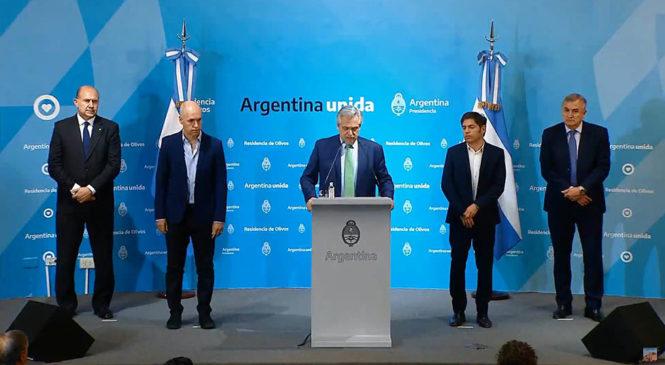 Coronavirus: cuarentena obligatoria en Argentina