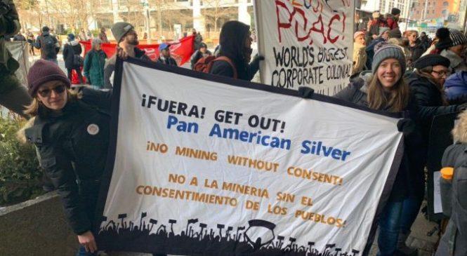 """Chubut en crisis y megaminería. Desde Canadá: """"Pan American Silver tiene las manos sucias"""""""