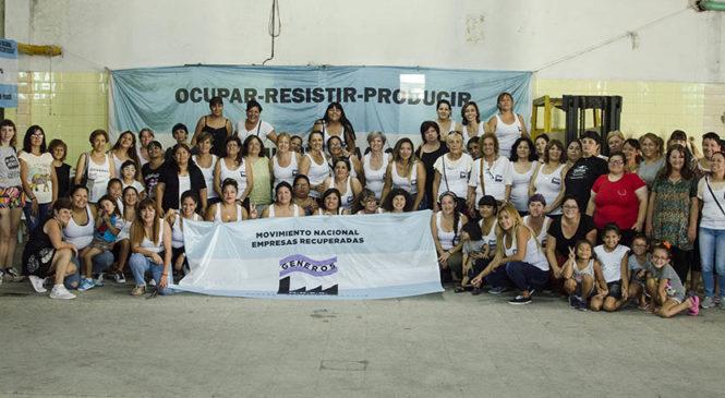 Encuentro de mujeres de fábricas recuperadas