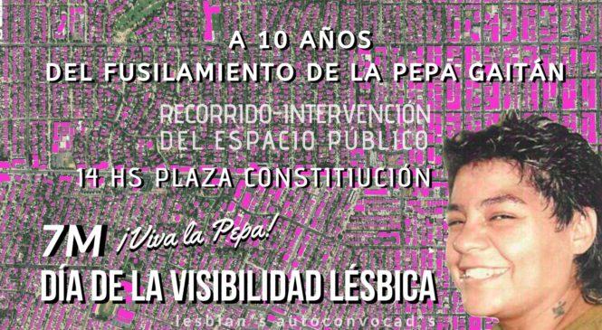 7M Día de la visibilidad Lésbica 2020 CABA