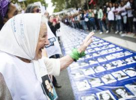 "Nora Cortiñas: ""La marcha no se borra, la marcha se pospone"""