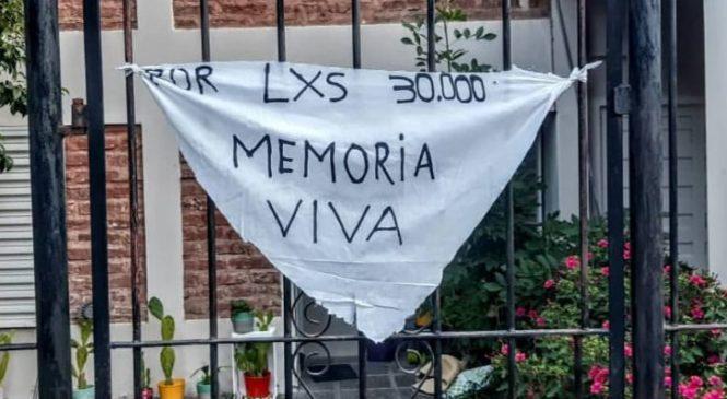 La Plata: los amenazaron con un arma por colgar un pañuelo de las Madres