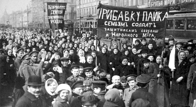 En el Día Internacional de la Mujer comenzó la Revolución Rusa