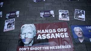 EEUU continua con su persecución politica hacia Assange.