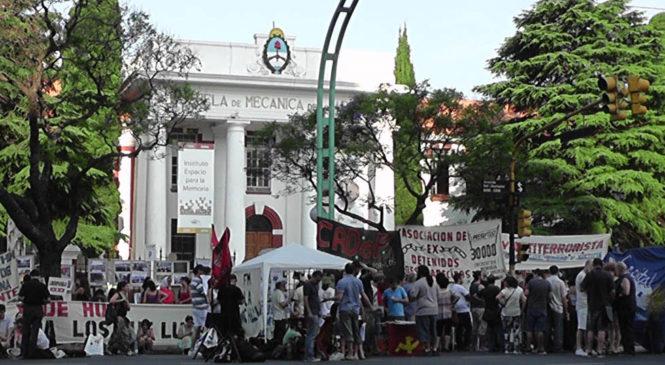 """Encuentro Memoria Verdad y Justicia: """"Fuera los militares de la ESMA"""""""