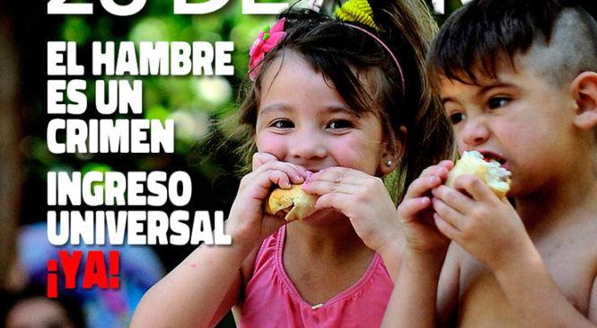 Federación Nacional Territorial: Mil Ollas Populares porque el hambre es un crimen